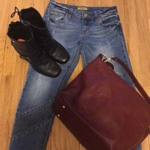 STS BLUE SKINNY JEANS LIKE NEW SIZE 1